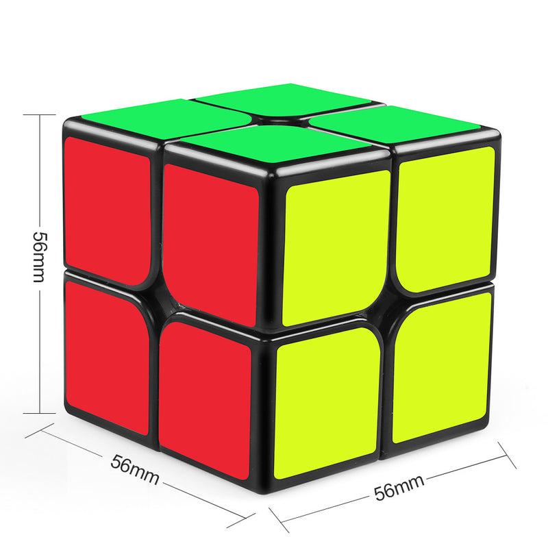 Qiyi Qidi 2x2 Speed Cube (Black)