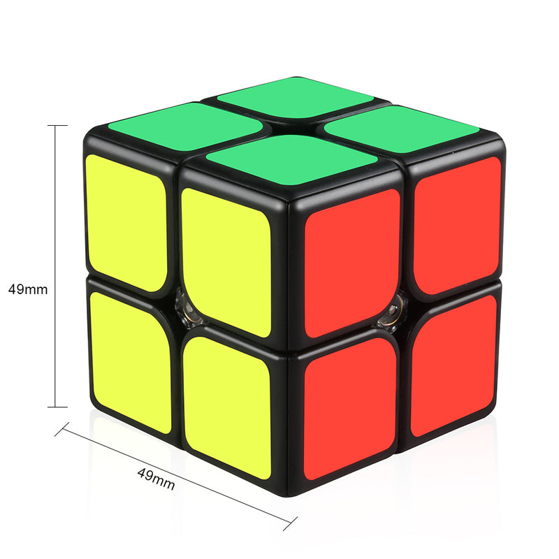 GAN249 V2 M 2x2 Magnetic Speed Cube Black