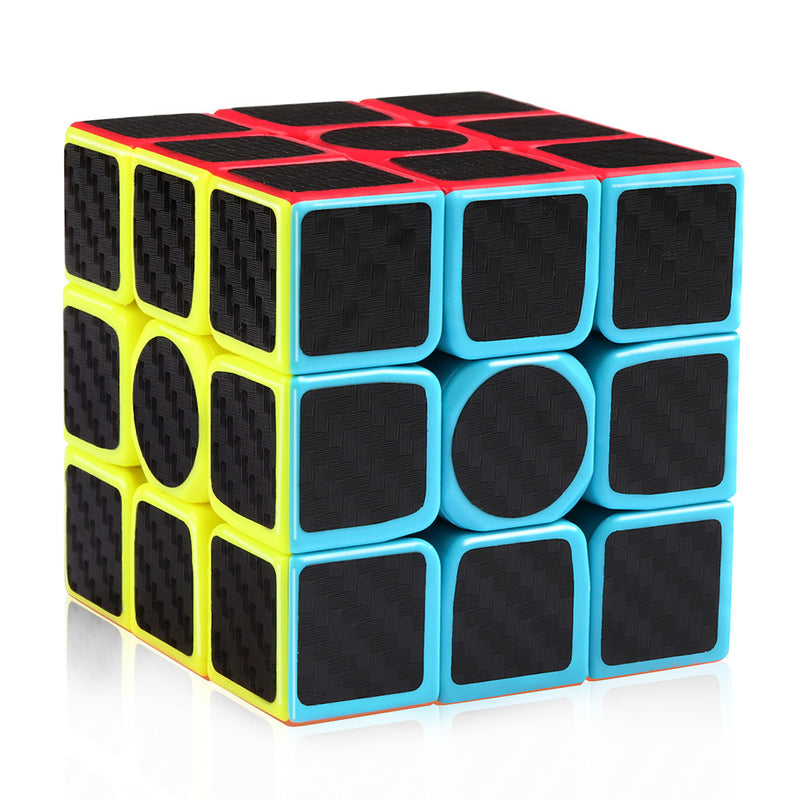 Carbon Fiber Speed Cube 2x2 3x3 Pyraminx Bundle