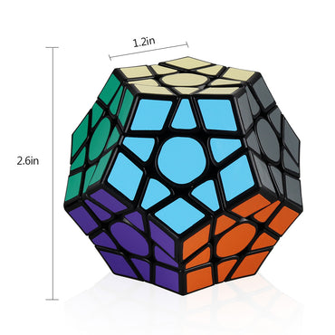 D-Fantix Qiyi X-Man Galaxy V2 Megaminx Cube Sculpted Enhanced Version