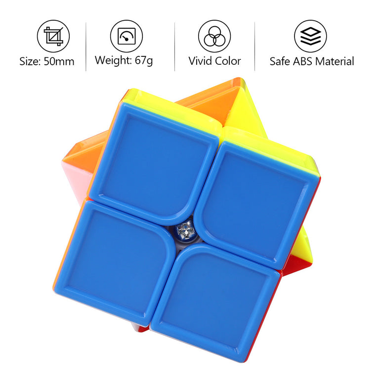 D-FantiX Cyclone Boys Feihu 2x2 Speed Cube Stickerless 50mm