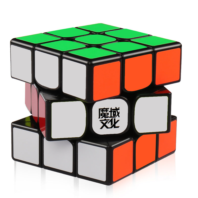 Moyu Weilong GTS2 3x3 Speed Cube Black