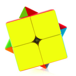D-FantiX Qiyi Qidi S 2x2 Speed Cube Stickerless