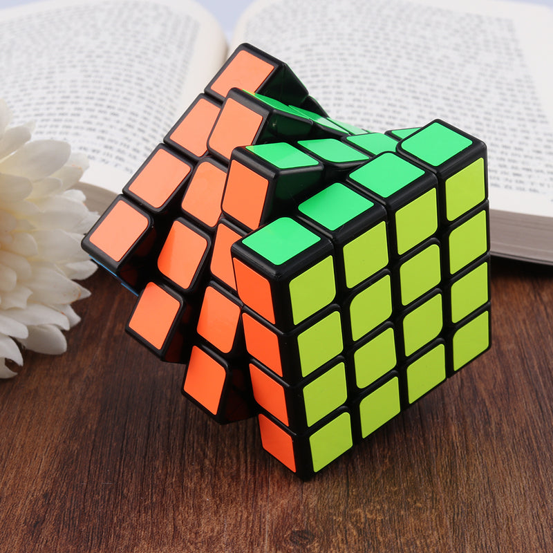 Qiyi Thunderclap 4×4 Speed Cube Magic Puzzles Black-base 62mm