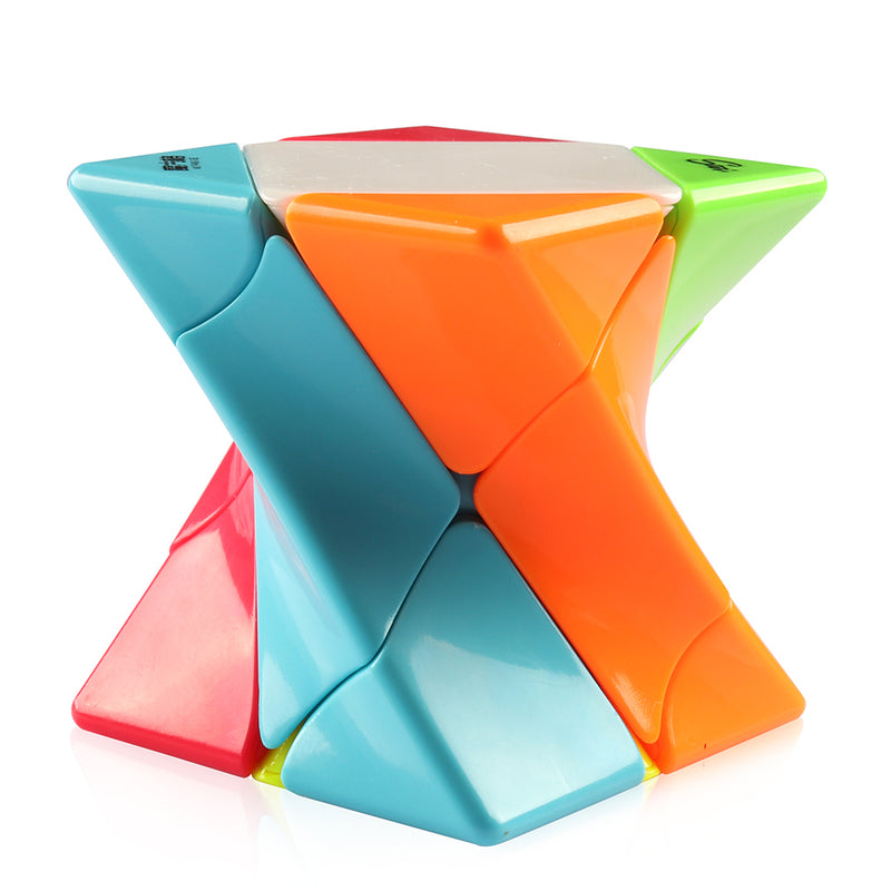 D-FantiX Qiyi MoFangGe Twisty Skewb 3×3 Stickerless Speed Cube Magic Puzzle  62mm