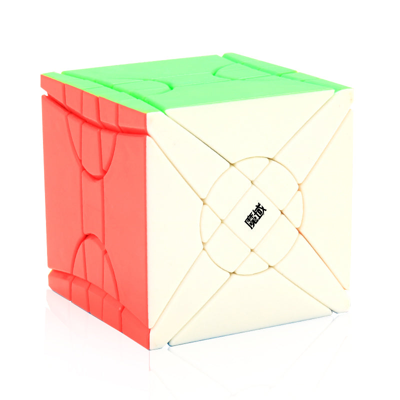 MoYu Fisher Time Wheel 3×3 Speed Cube Magic Cube Puzzle Toy Black 64mm