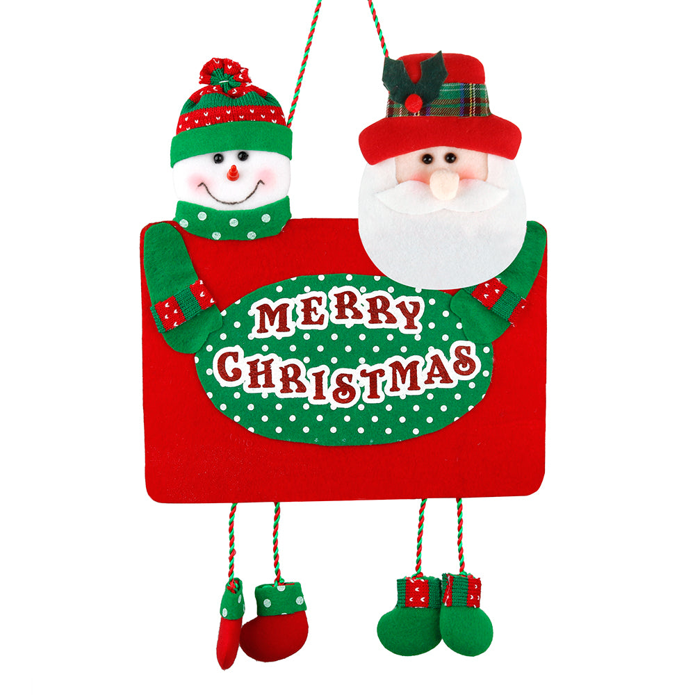 D-FantiX Merry Christmas Sign, Christmas Hanging Signs