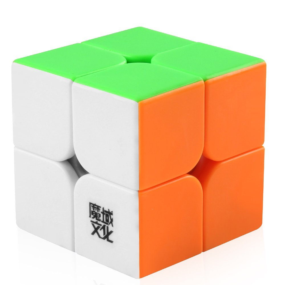 D-FantiX Moyu Weipo Speed Cube 2x2 Stickerless