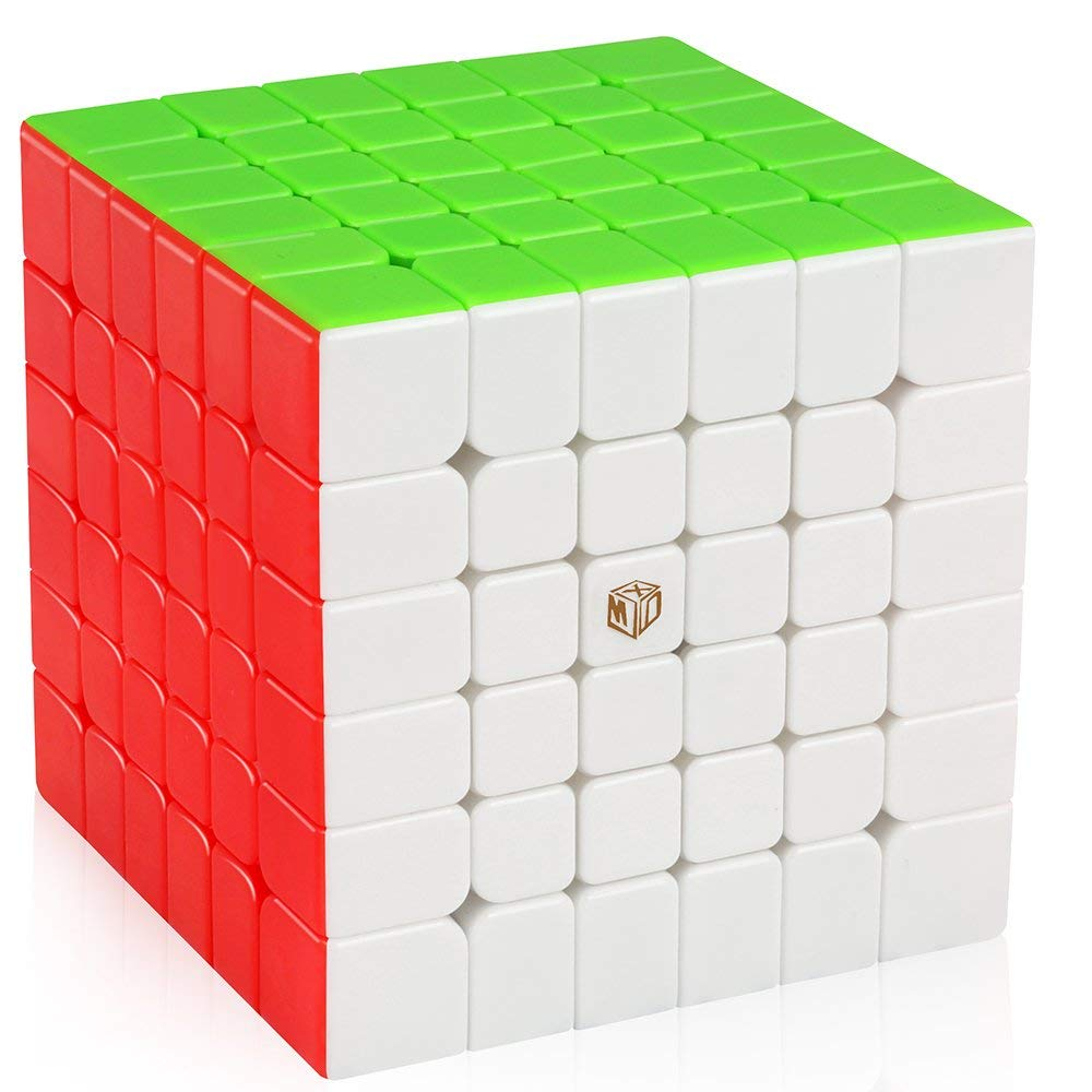 D-FantiX Qiyi X-Man Shadow M 6x6 Speed Cube 6x6x6 Magnetic Magic Cube Puzzle Toy for Kids 65mm