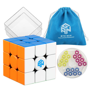 D-FantiX Gan 354 M 3x3 Speed Cube Stickerless Magnetic Cube Puzzle
