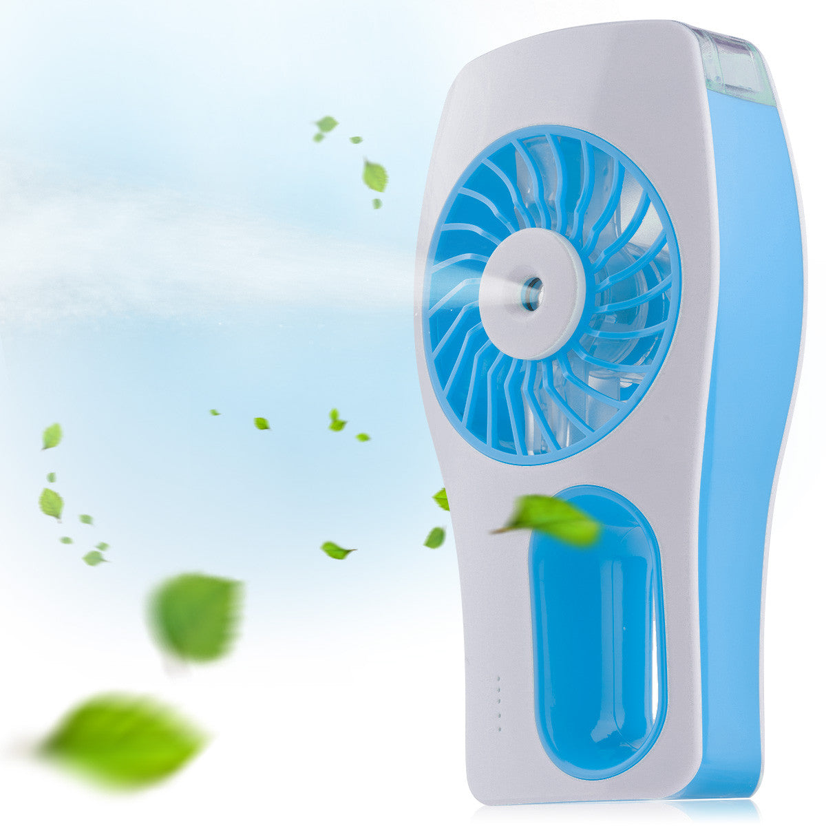 D-FantiX Handheld Fan Battery Operated Portable Misting Fan (Blue)