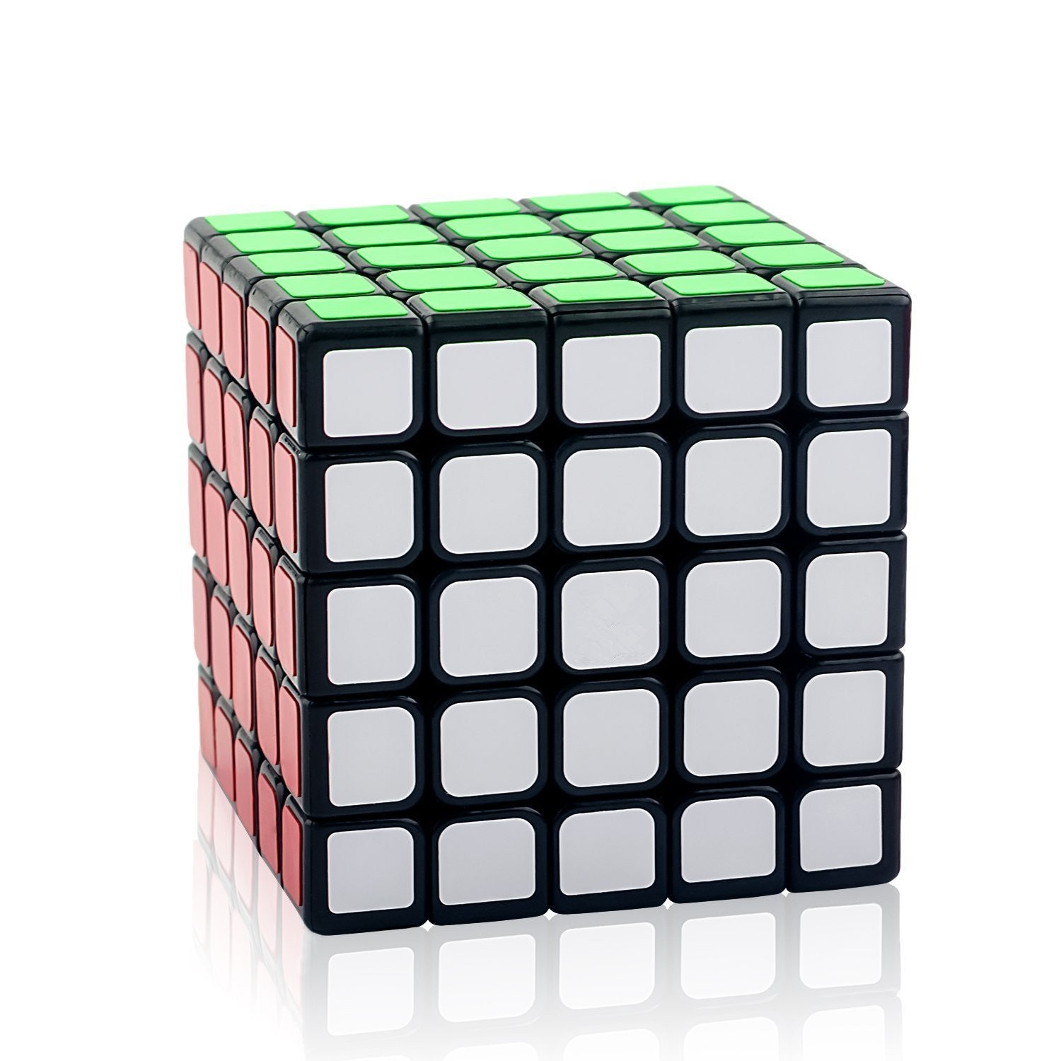 D-FantiX Yj Moyu 5x5 Speed Cube Black