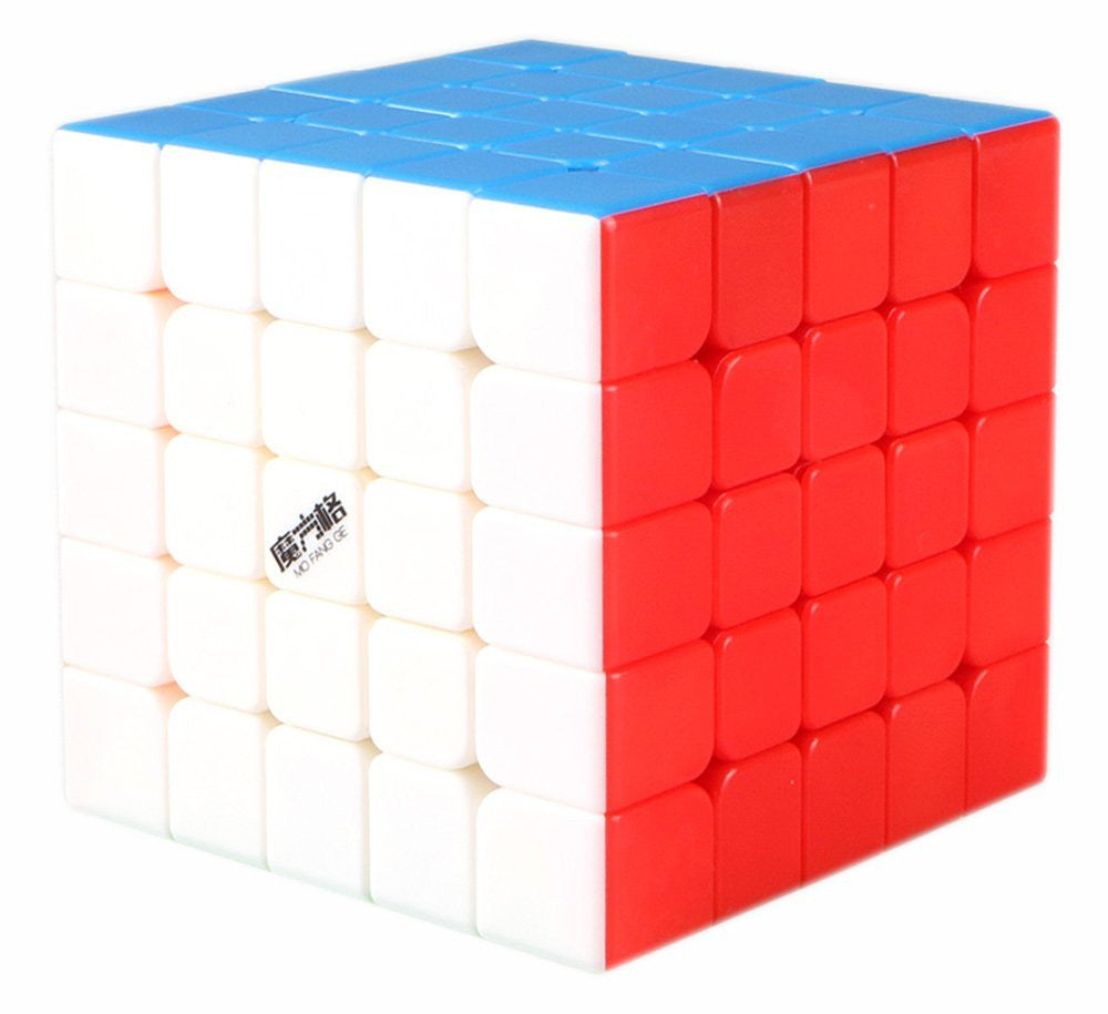 D-FantiX QiYi MoFangGe WuShuang 5x5 Speed Cube Stickerless