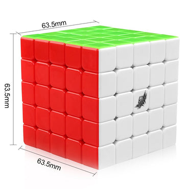 D-FantIX Cyclone Boys 5x5 Speed Cube Magic Cube Puzzle
