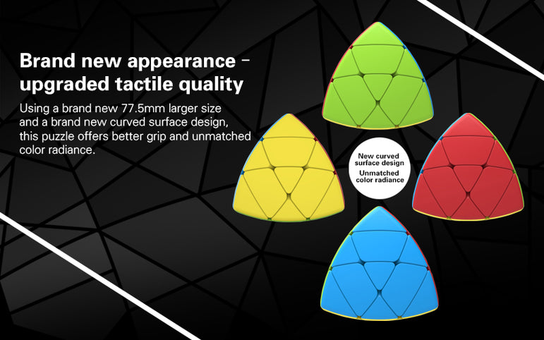 D-FantiX Qiyi Mastermorphix Stickerless 3x3 Speed Cube