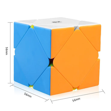 D-FantiX Qiyi Qicheng Skewb Speed Cube Stickerless
