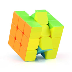 D-FantiX Qiyi Warrior W 3x3 Speed Cube Stickerless