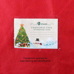 D-FantiX Christmas Tree Storage Bag Fits Up to 9 Foot Artificial Trees