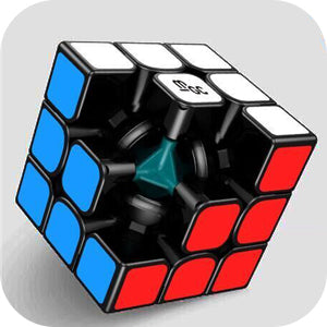 D-FantiX YJ MGC 3x3 Speed Cube Magnetic Black