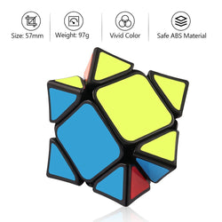 D-FantiX X-MAN Wingy Skewb Magnetic Speed Cube