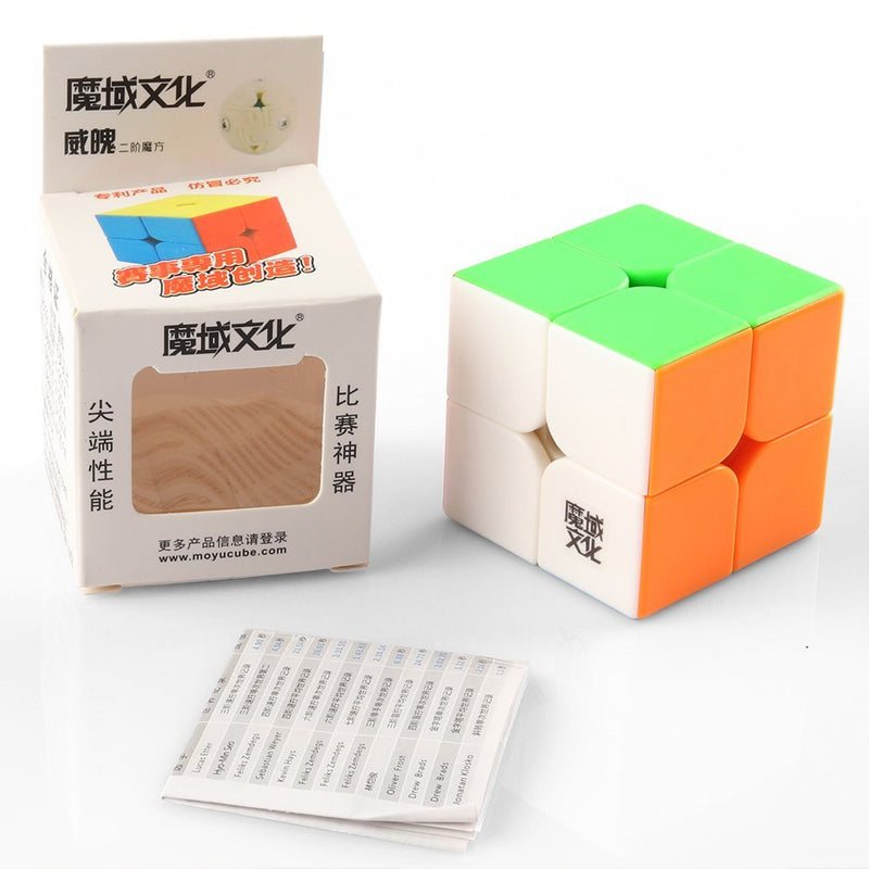 Moyu Weipo Speed Cube 2x2 Stickerless