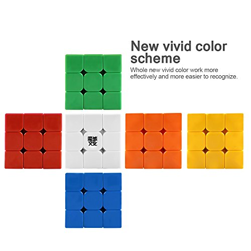 D-FantiX Moyu Aolong V2 Stickerless 3x3 Speed Cube Magic Cube Puzzles Enhanced Version