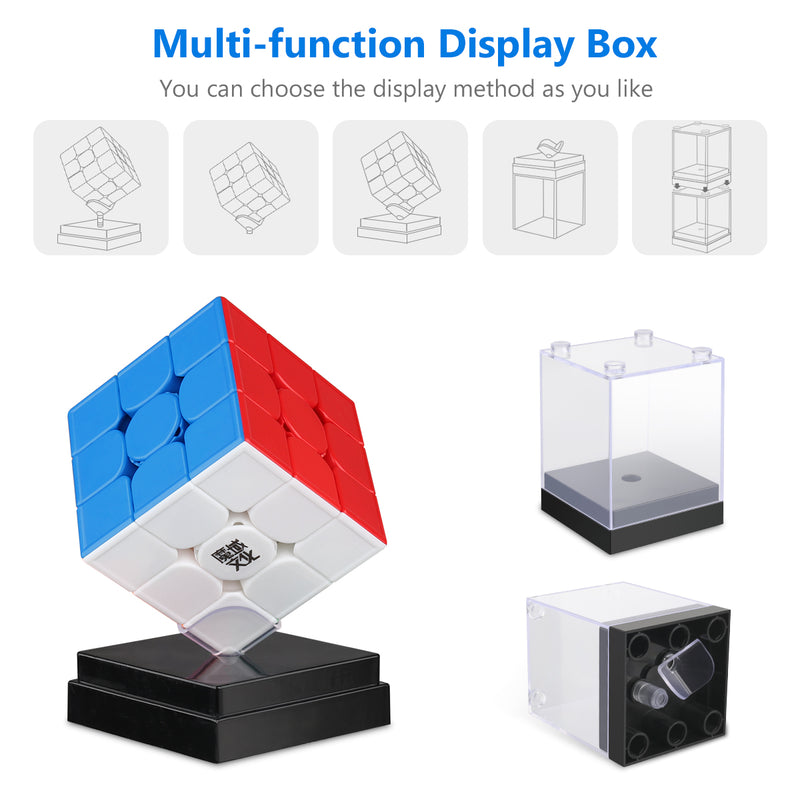D-FantiX Moyu Weilong GTS 3M Speed Cube 3x3x3 Stickerless Magic Cube Puzzle
