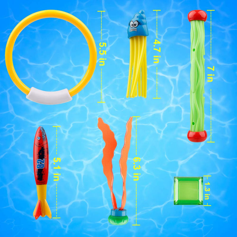D-FantiX Diving Toys 25Pcs