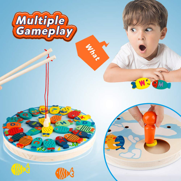 D-FantiX Magnetic Fishing Game