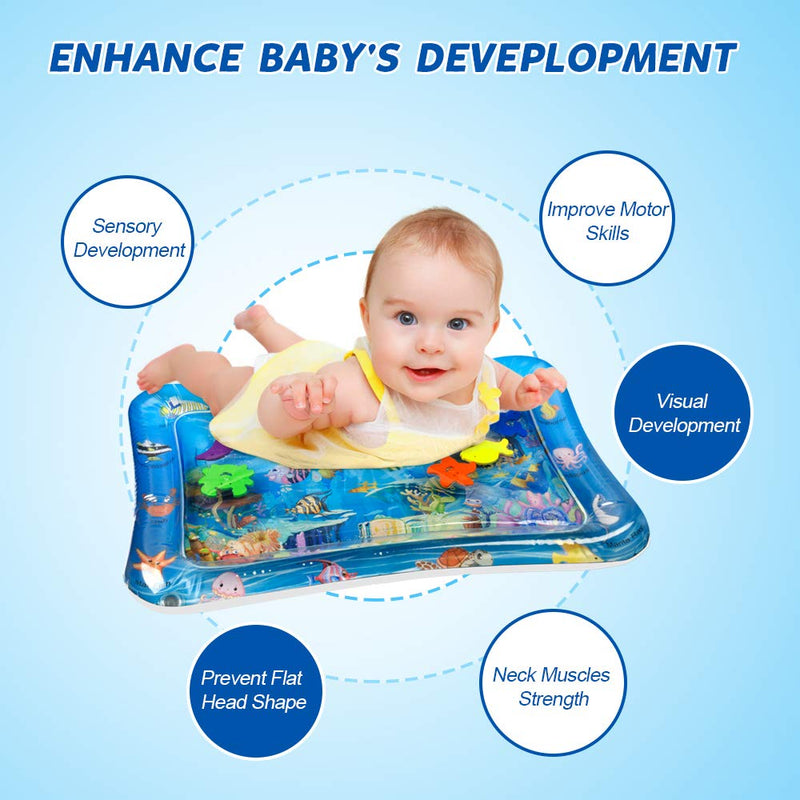 "D-FantiX Baby Water Play Mat 26""x 20"""