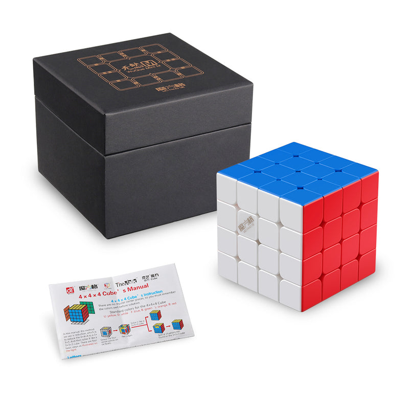 D-FantiX Qiyi Wuque Mini M Magnetic 4x4 Speed Cube Stickerless Smooth Speed Cube 4x4x4 Puzzle 60mm