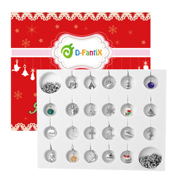 D-FantiX Christmas Advent Calendar  Girls Jewelry Advent Calendar