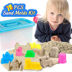 D-FantiX 78 Pcs Sand Molds Kit