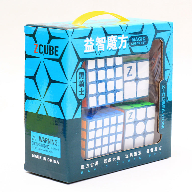 D-Fantix ZCUBE 4pcs Magic Cube Set