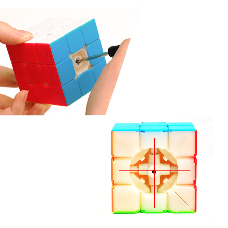 D-FantiX ZCUBE 3x3 Speed Cube Stickerless