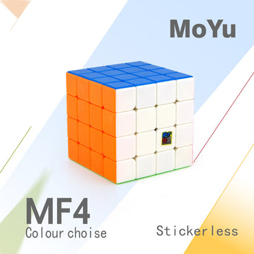 D-FantiX Moyu Mofang Jiaoshi MF4 4x4 Speed Cube Stickerless