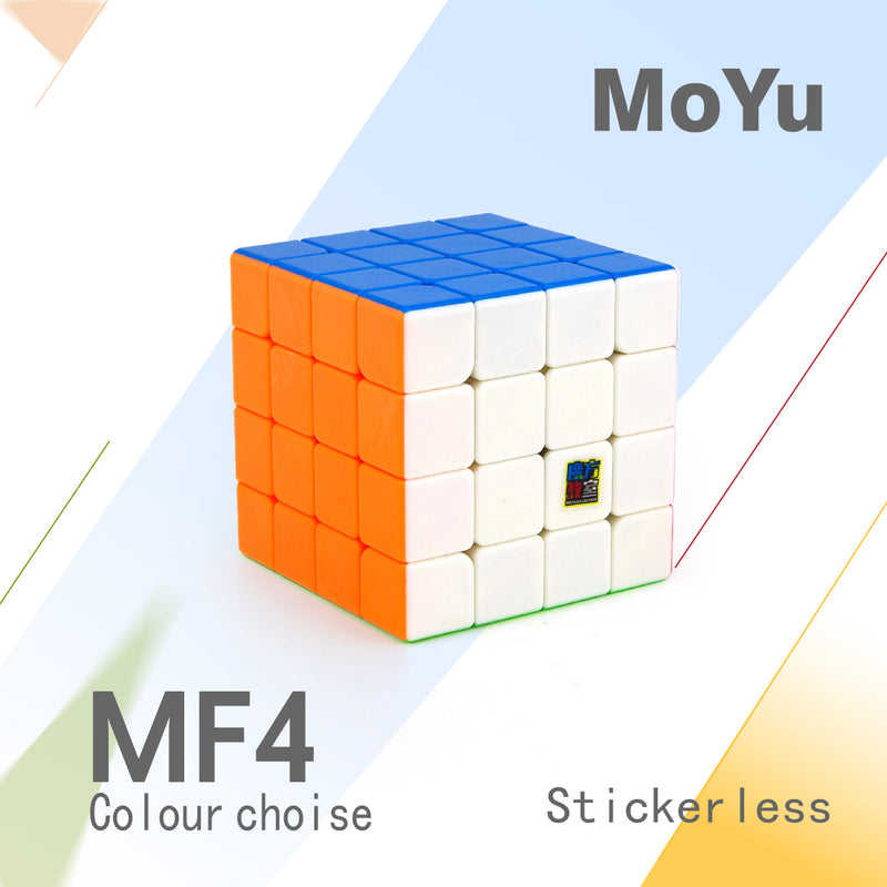 Moyu Mofang Jiaoshi MF4 4x4 Speed Cube Stickerless