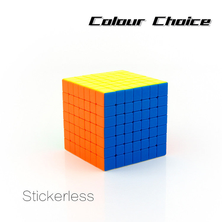 Mofang Jiaoshi MF7S 7x7 Speed Cube Stickerless (Colorful)