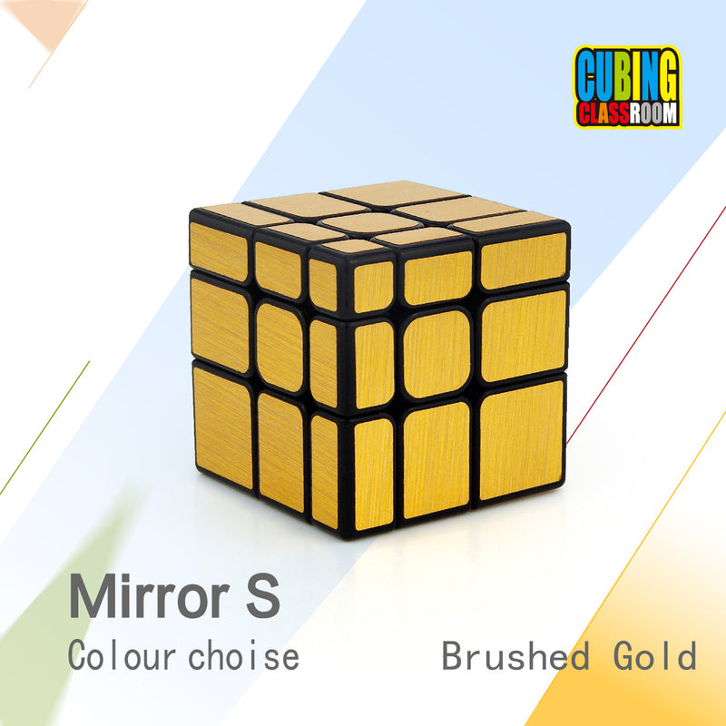 Moyu Mofang Jiaoshi Mirror S Speed Cube (Golden)