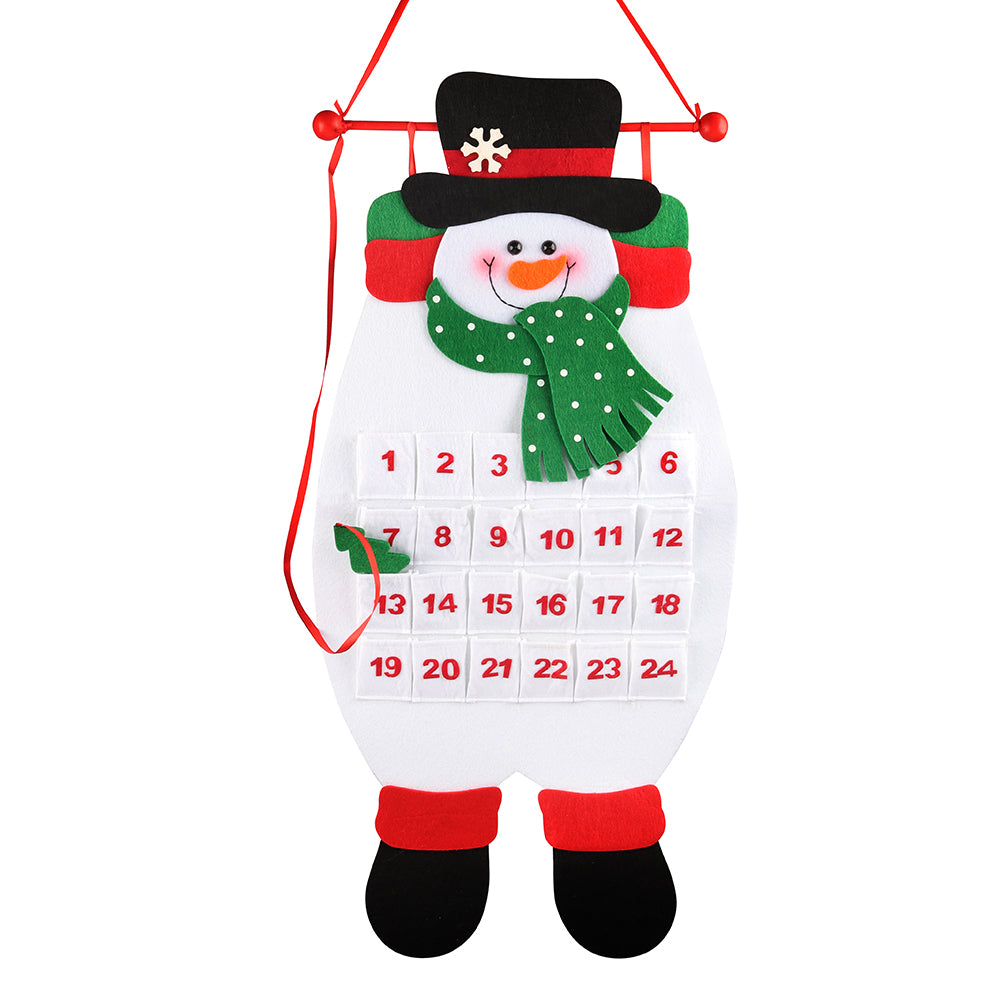 D-FantiX 3D Snowman Felt Advent Calendars