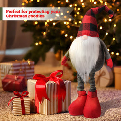 D-FantiX 21 Inch Christmas Gnomes Plush, Stand Swedish Tomte