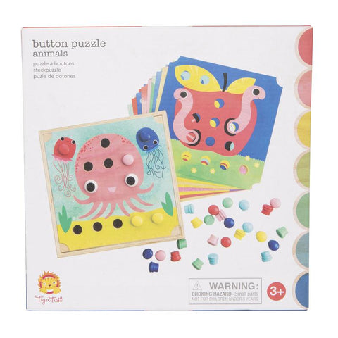 button puzzle - animals