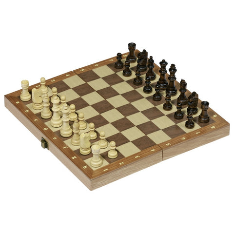 goki- wooden chess set