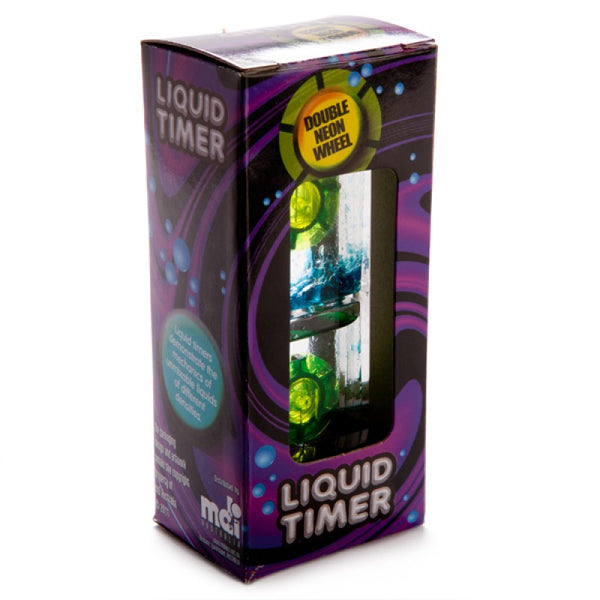 Double neon wheel liquid timer