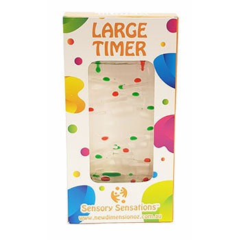 large liquid timer - assorted colours