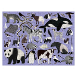 animal kingdom 100pc double sided puzzle