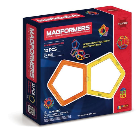 Magformers Basic Set  Lines - 12pc Pentagons