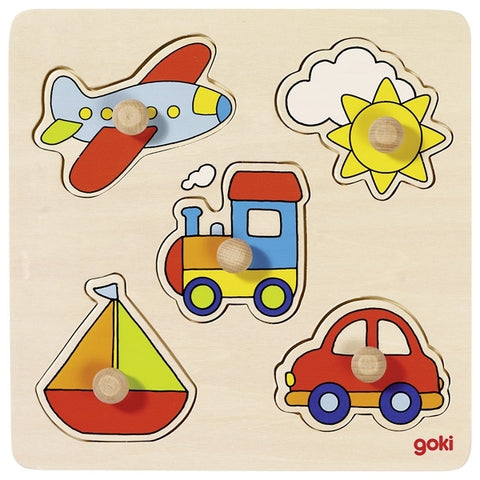 goki - basic farm puzzle 5 pc