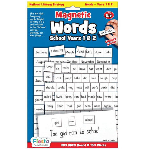fiesta - magnetic words years 1 & 2