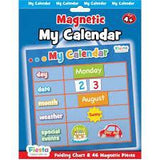 fiesta crafts - magnetic calendar blue